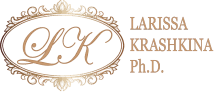 LARISSA KRASHKINA Ph.D. in Philosophy. Master of Arts in History. Etiquette & Image Management Consultant